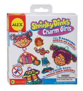Alex Toys Shrinky Dink Kits, Charm Girls