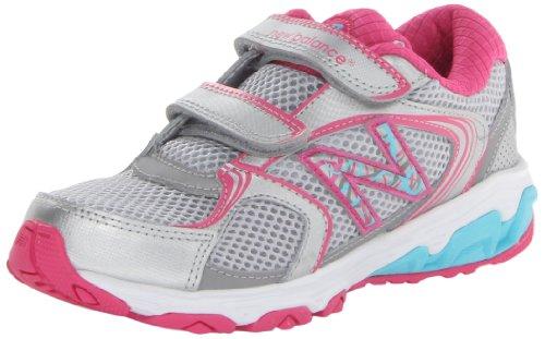 New Balance Kg635 Hook Running Shoe (Little Kid),Pink/Blue,2.5 M Us Little Kid