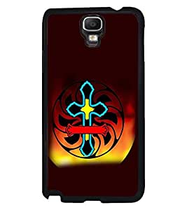 Fuson Premium My Lord Metal Printed with Hard Plastic Back Case Cover for Samsung Galaxy Note 3 Neo N7505