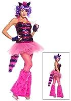 Fun Costumes Women's Exclusive Sequin Cheshire Cat Costume