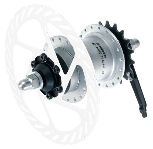 Sram I-Motion 3 32H 135mm Freewheel/Disc Hub Shift Lever(Disc rotor is not include)