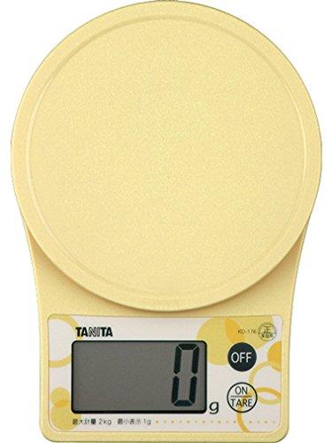 ?chelle de cuisson num?rique Tanita jaune KD-176-YL (japon importation)