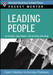 "Cover of ""Leading People (Pocket Mentor)&..."