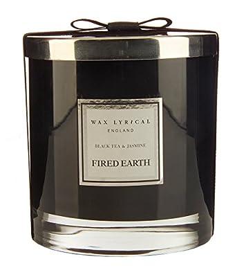 WAX LYRICAL Wax Fill Glass Large Black Tea and Jasmine by WAX LYRICAL