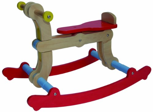 Mishidesign Swing Up Toy, Red/Blue