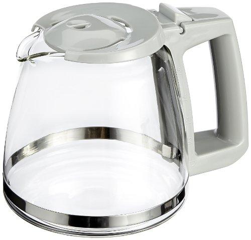 Ersatzkanne für Melitta M 720 SINGLE 5 Kaffeemaschine weiß-grau / Glaskanne M720 Single5