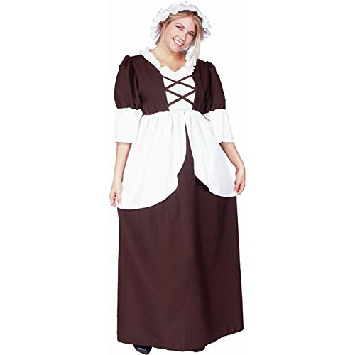 Adult Colonial Woman Halloween Costume