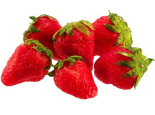 Strawberry 5 Artificial Fake Food Fruit Strawberry
