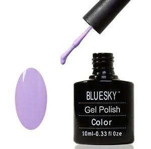 Bluesky Neon Lavender Gel Polish Gel 10ml
