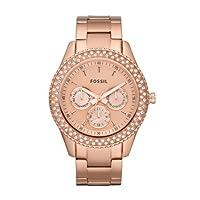 Fossil Damen-Armbanduhr Ladies Dress Ana...