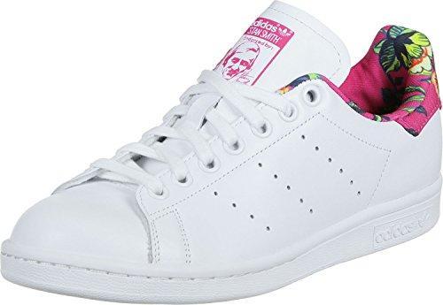 Adidas Stan Smith W Scarpe Low-Top, Donna, bianco rosa, 38 2/3