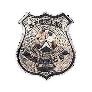 Policeman's Badge - Metal