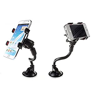 My Dress My Style 360°Rotating Universal Car Windshield Mount Holder Stand Bracket for Cell Phone