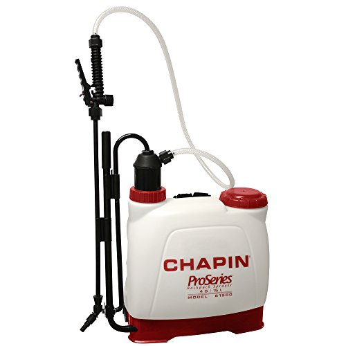 Chapin 61500 4-Gallon Euro Style Backpack Sprayer For Fertilizer, Herbicides and Pesticides