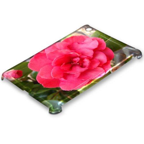 """""""Blumen"""" 10056, Designer 3D Hartschale für iPad Mini. Glänzendes Finish."""