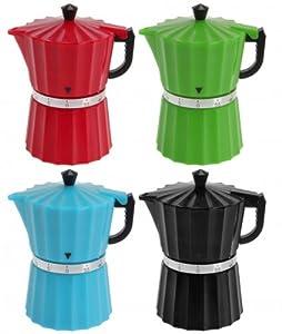 Eieruhr 'Kaffeebereiter' - Kurzzeitmesser bis 60 Minuten - Küchenuhr - Timer - Uhr - Wecker