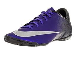 Nike Men\'s Mercurial Victory V Cr Ic Dp Ryl Bl/Mtllc Slvr/Rcr Bl/Bl Indoor Soccer Shoe 11 Men US