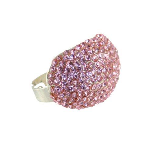 tamariske pink kristall verstellbar kost m ring mit geschenk box. Black Bedroom Furniture Sets. Home Design Ideas