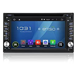 See Pumpkin Android 4.4.4 KitKat Car DVD Player 6.2 inch Double Din In Dash Capacitive HD Multi-Touch Screen GPS Navigation Radio Stereo Support Bluetooth/SD/USB/Ipod/Iphone/AM/FM/AV-IN/OBD2/3G/Wifi/DVR Details