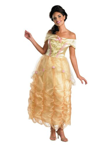 adult costumes - Belle Adult Deluxe 8-10