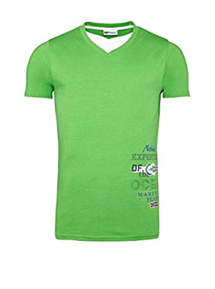 Nebulus Camiseta Manga Corta Davis (Verde Claro)