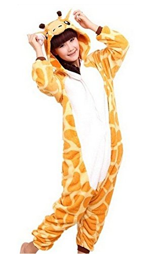 Pajamas Giraffe Suits Adults Cosplay Costumes Garment Cute Animal (L) (Chopper Gloves Children compare prices)