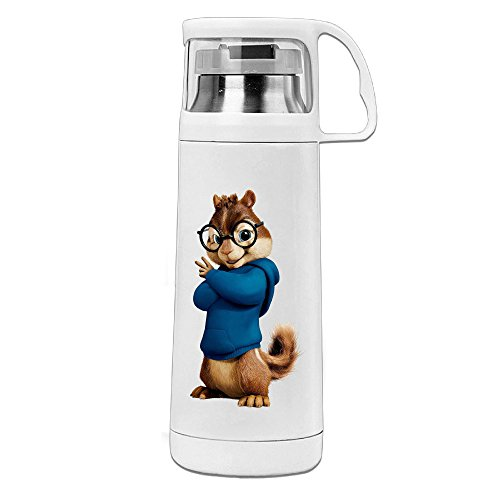 Nngogoing Squirrels Can Sing Stainless Steel Mug & Coffee Thermos & Vacuum Flask Mug (Theodore Chipmunk Costume)