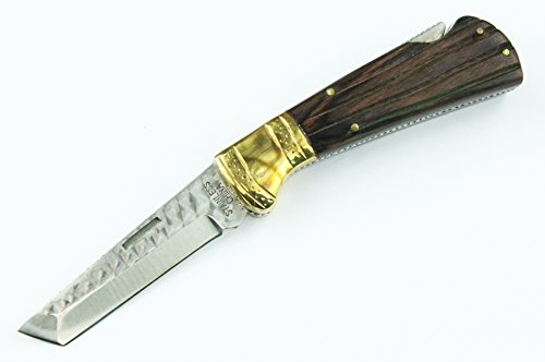 Rare Custom Made Lockback Tanto Blade W/ Many Features By Bladesusa