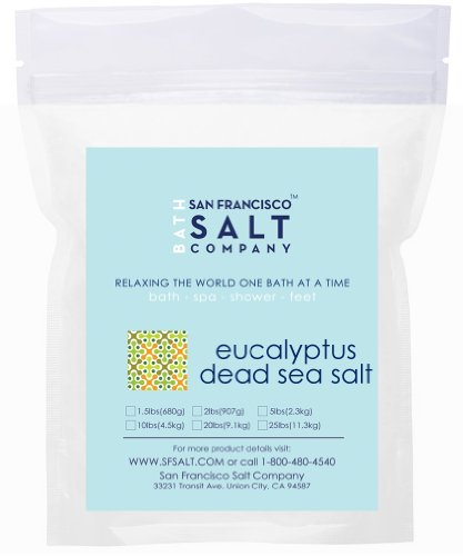 Eucalyptus Dead Sea Salt - 10lb Bag