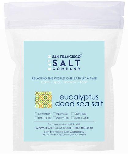 Eucalyptus Dead Sea Salt - 10lb Bag
