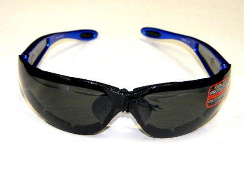 Riding Sunglasses Sun Glasses Blue Frame Smoke Lens 4 Harley Davidson