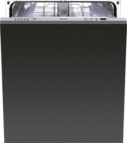 Smeg STA6443-2 lave-vaisselle - lave-vaisselles (Entièrement intégré, A, A+++, Noir, boutons, Économie, Rapide)