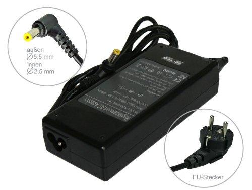 Notebook Netzteil AC Adapter Ladegerät für Fujitsu Siemens Amilo Pro V2060 V2085 Celcius 810 Lifebook 4215 Lifebook A530 A531 AH550 C1010 C1110 C1110D C1211 C1211D C1212 C1212D C1321 C2000 C2010 C2032 C2100 C2110 C2111 C2210 . Mit Euro Stromkabel. Von e-port24®