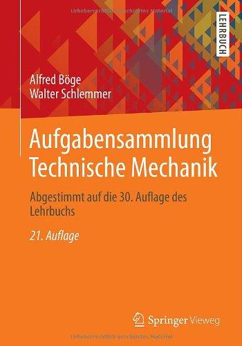 Buchseite und Rezensionen zu 'Aufgabensammlung Technische Mechanik: Abgestimmt auf die 30. Auflage des Lehrbuchs' von Alfred Böge