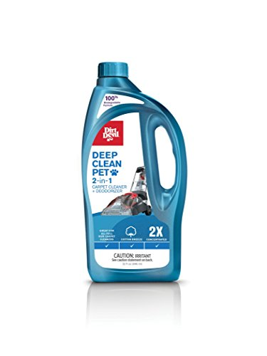 Deep Clean Pet 2X Solution Carpet Washer