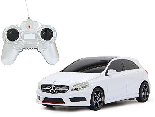 BUSDUGA 2391 RC Mercedes-Benz A-Klasse, weiß Maßstab: 1:24 – ferngesteuert, – RTR – LIZENZ-NACHBAU als Geschenk