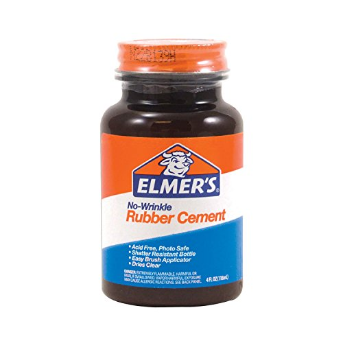 elmers-no-wrinkle-rubber-cement-clear-brush-applicator-4-ounce