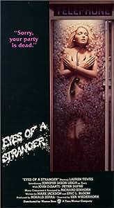 Amazon Com Eyes Of A Stranger Vhs Lauren Tewes