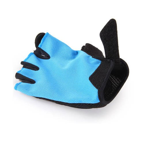 NEW Cycling Bike Bicycle Half Finger Gloves pro biker mcs 04 motorcycle racing half finger protective gloves red black size m pair