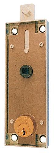 PREFER SERRATURA X PORTE BASCULANTI CON CILINDRO TONDO B551 (6551)* Confezione da 1PZ