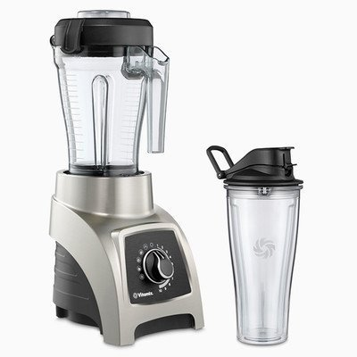Vita-Mix S-Series High Performance Personal Blender S55 Brushed Stainless Finish by Vitamix (Vitamix Personal Blender S Series compare prices)