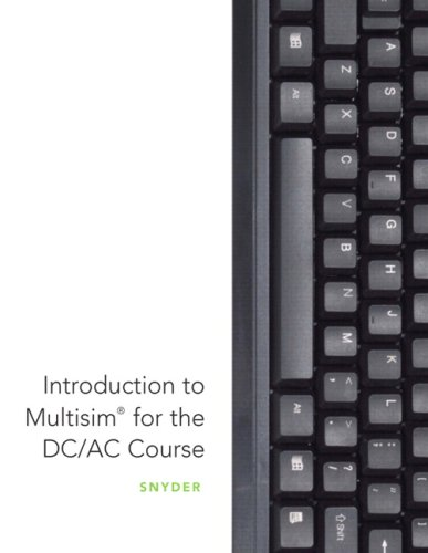 Introduction to MultiSim for the DC/AC Course