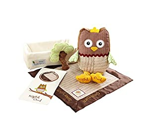"Baby Aspen ""My Little Night Owl"" Baby Gift Set, 5-Piece"