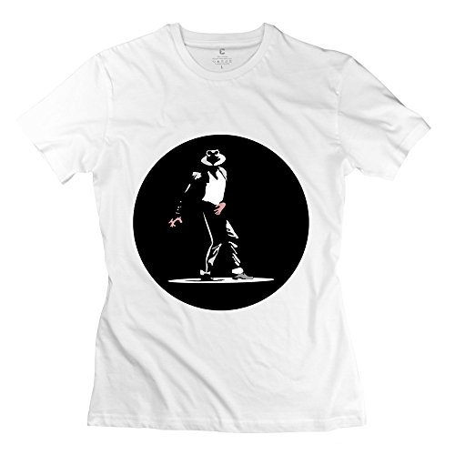 ZhiTian Women's Michael Jackson Moonwalk T-Shirt
