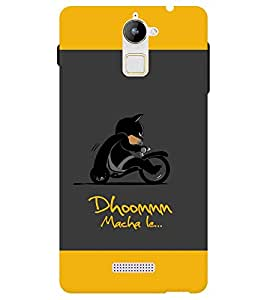 Chiraiyaa Designer Printed Premium Back Cover Case for Coolpad Note 3 Lite (dhoom macha le batman) (Multicolor)