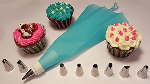 Cake Decorating Kit For Beginners : G&G Products 11-Piece Cake Decorating Tip Kit for ...