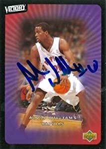 Alvin Williams Autographed Hand Signed Basketball Card (Toronto Raptors) 2003 Upper... by Hall of Fame Memorabilia