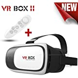 Byond B66 2nd Generation Hot Selling VR Headset Virtual Reality 3D Glasses Google Cardboard VR Box Adjustable 4.7~6 Inch Screen Phones with Mini Gamepad( Get Mobile Charging Cable worth Rs 239 FREE & 180 days Replacement Warranty )