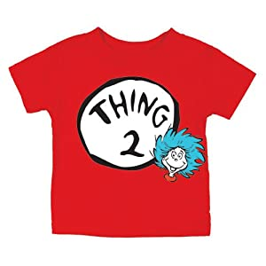 Dr. Seuss Thing Two Short Sleeve T-Shirt, 12 Months