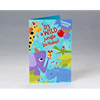 Surprise Inside Safari Birthday Card